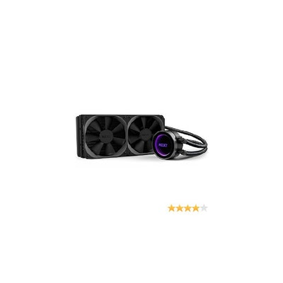 NZXT Kraken X52 AIO Liquid Cooler, 240mm, Black