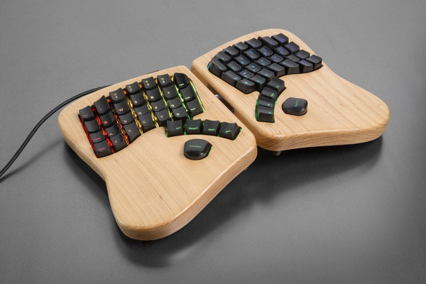 Keyboardio: heirloom-grade keyboards for serious typists
