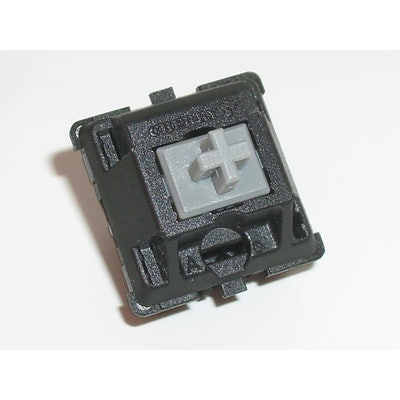 Cherry MX Gray Keyswitch - Plate Mount - Tactile - 110 Pack by Cherry