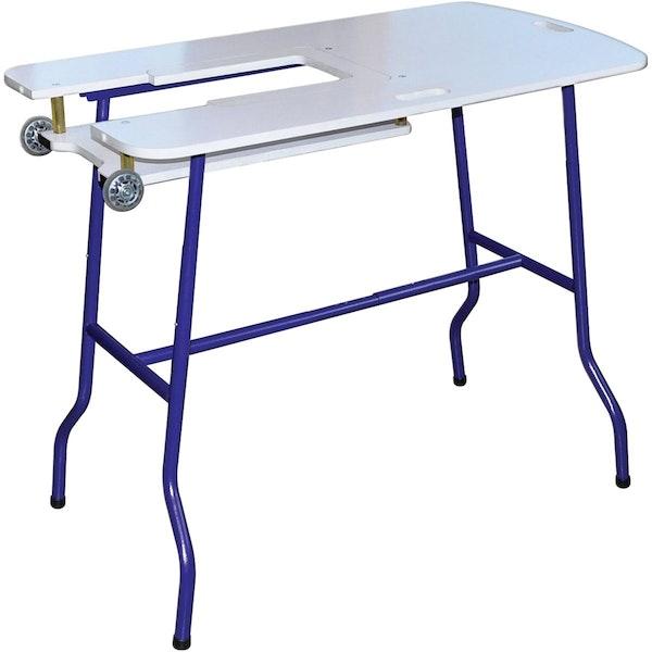 folding sewing table poll massdrop. Black Bedroom Furniture Sets. Home Design Ideas