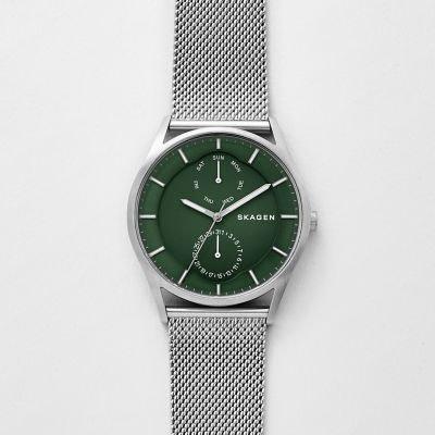 454f38b2d8aa Holst Steel-Mesh Multifunction Watch