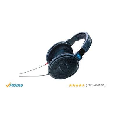 Amazon.com: Sennheiser HD 600 Open Back Professional Headphone: Musical Instrume