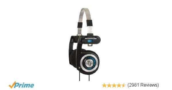 Koss PortaPro Headphones with Case: Electronics