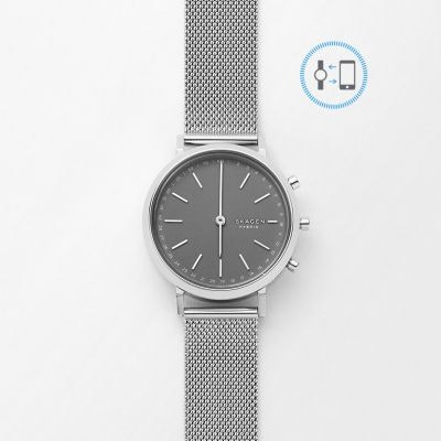 "SKAGEN® ""Hybrid Smartwatch"" - Mini Hald Steel-Mesh"