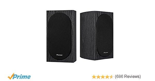 Amazon.com: Pioneer SP-BS22-LR Andrew Jones Designed Bookshelf Loudspeakers(7-1/