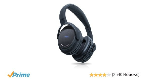 Amazon.com: Photive BTH3 Over-The-Ear Wireless Bluetooth Headphones with Built-i