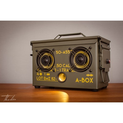 Thodio .50 A-BOX Edition wireless Bluetooth speaker