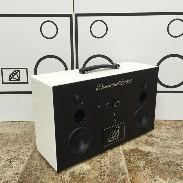 DiamondBoxx Model L - Rough Duty White
