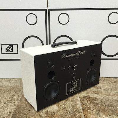 DiamondBoxx Model L - Rough Duty White