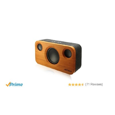 Amazon.com: ARCHEER 25W Bluetooth Speakers with Subwoofer Strong Bass Sound Ster