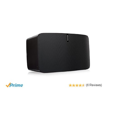 Amazon.com: SONOS PLAY:5 - Ultimate Smart Speaker for Streaming Music (Black): E