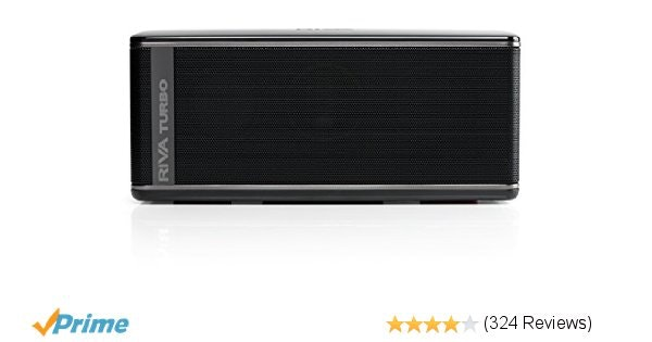 Amazon.com: RIVA TURBO X RTX01B Premium Wireless Bluetooth Speaker (Black): Amaz