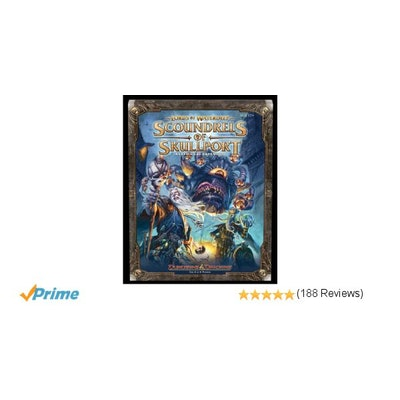 Amazon.com: Lords of Waterdeep: Scoundrels of Skullport Expansion Board Game: Ro