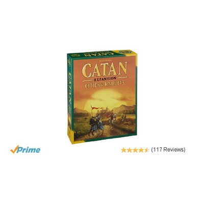 Amazon.com: Catan: Cities & Knights Expansion: Toys & Games