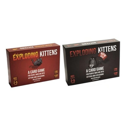 Exploding Kittens : Both Decks – The Oatmeal