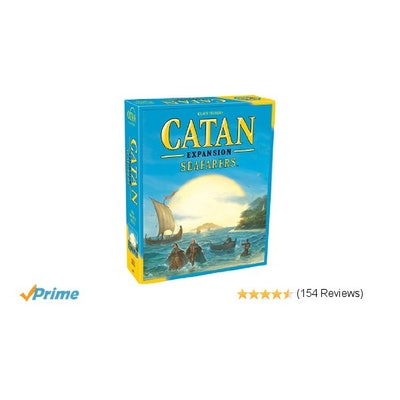 Amazon.com: Catan: Seafarers Game Expansion 5th Edition: Toys & Games