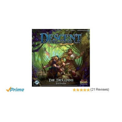Amazon.com: Descent Second Edition: The Trollfens Expansion: Toys & Games