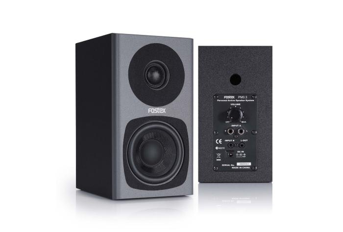 Fostex PM0.3 / PM0.3d : Active Speaker System