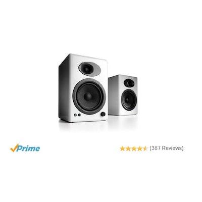 Amazon.com: Audioengine A5+ Premium Powered Speaker Pair (White): Computers & Ac