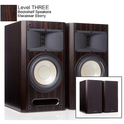 HTD Level THREE Bookshelf Speakers