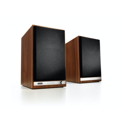 Audioengine HD6 Powered Speakers, Walnut