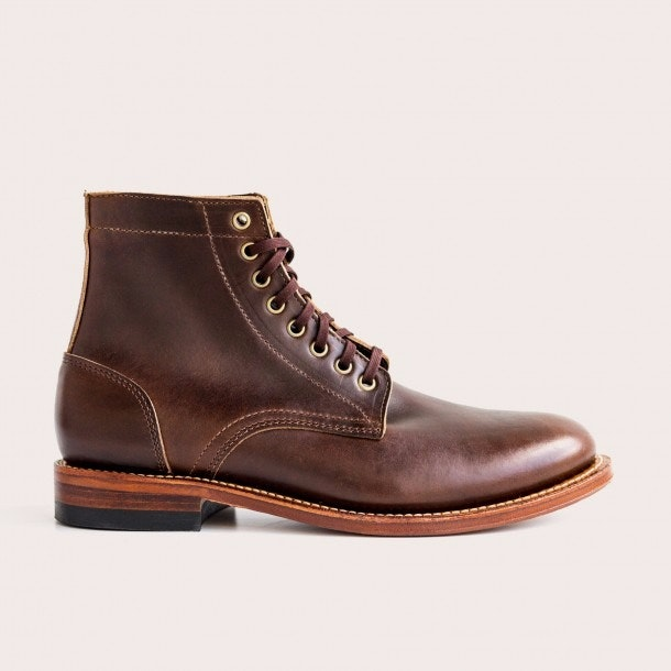 Oak Street Bootmakers | Brown Trench Boot