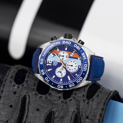 TAG Heuer Formula 1 43mm | Watch | Gulf Racing Special Edition