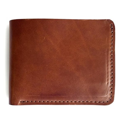 Bifold Wallet Made of Full Grain Genuine Leather Holds 6 Cards - Jackson Wayne L