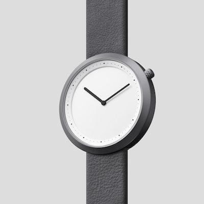 Bulbul Watches -  Gun Grey Facette
