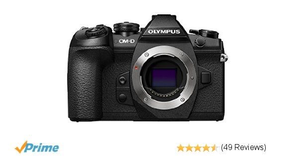 Olympus OM-D E-M1 Mark II 4K Mirrorless Camera Body, 20.4 Megapixel