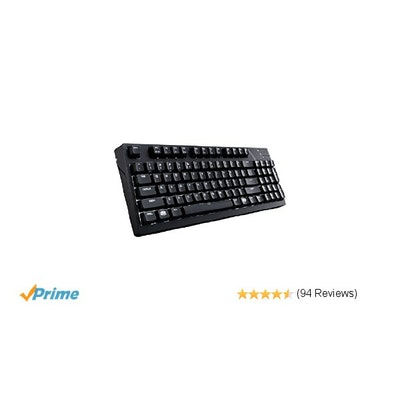 Amazon.com: MasterKeys Pro M Mechanical Keyboard with Intelligent White LED, Che