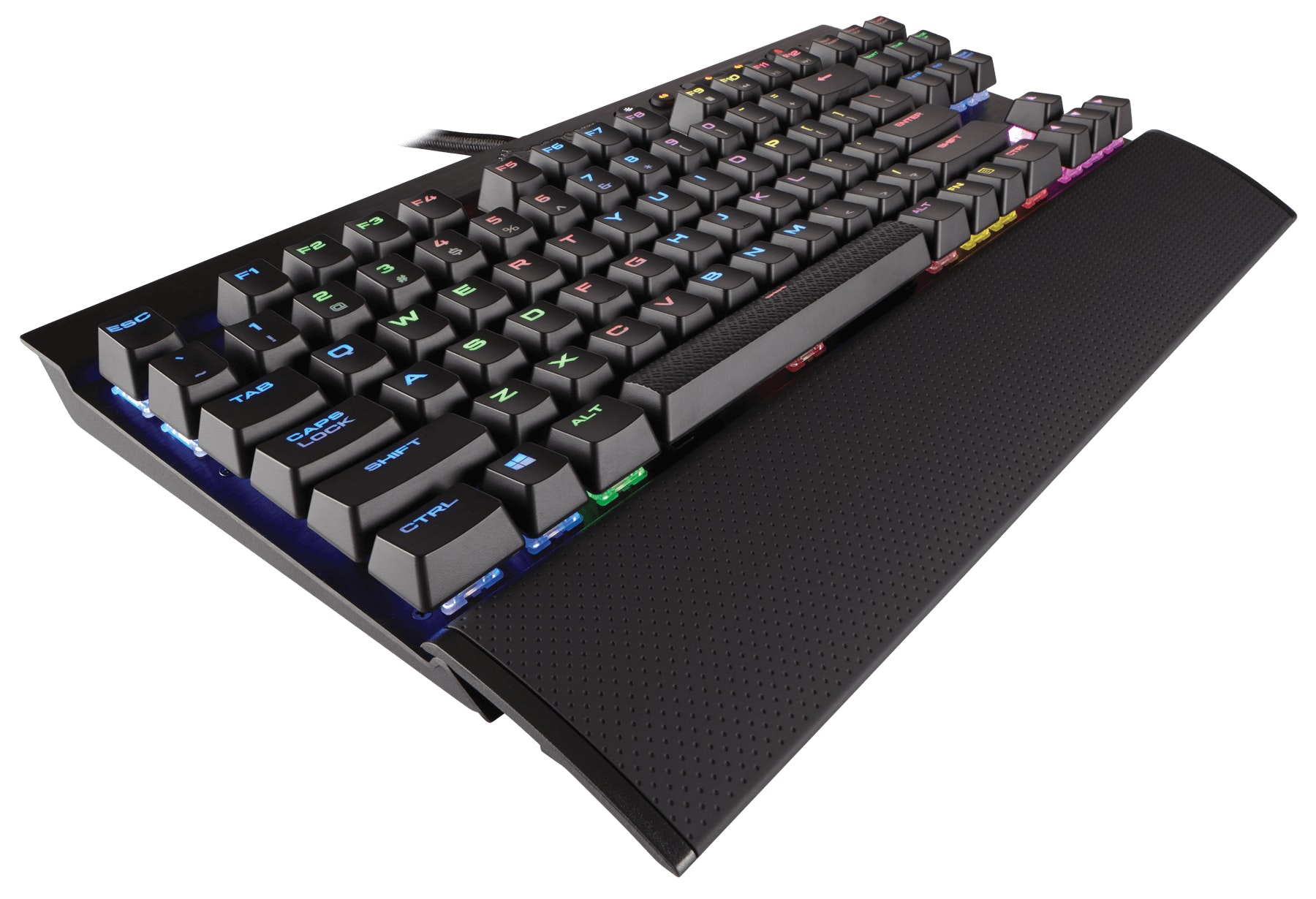 Corsair K65 RGB RAPIDFIRE — Cherry MX Speed RGB