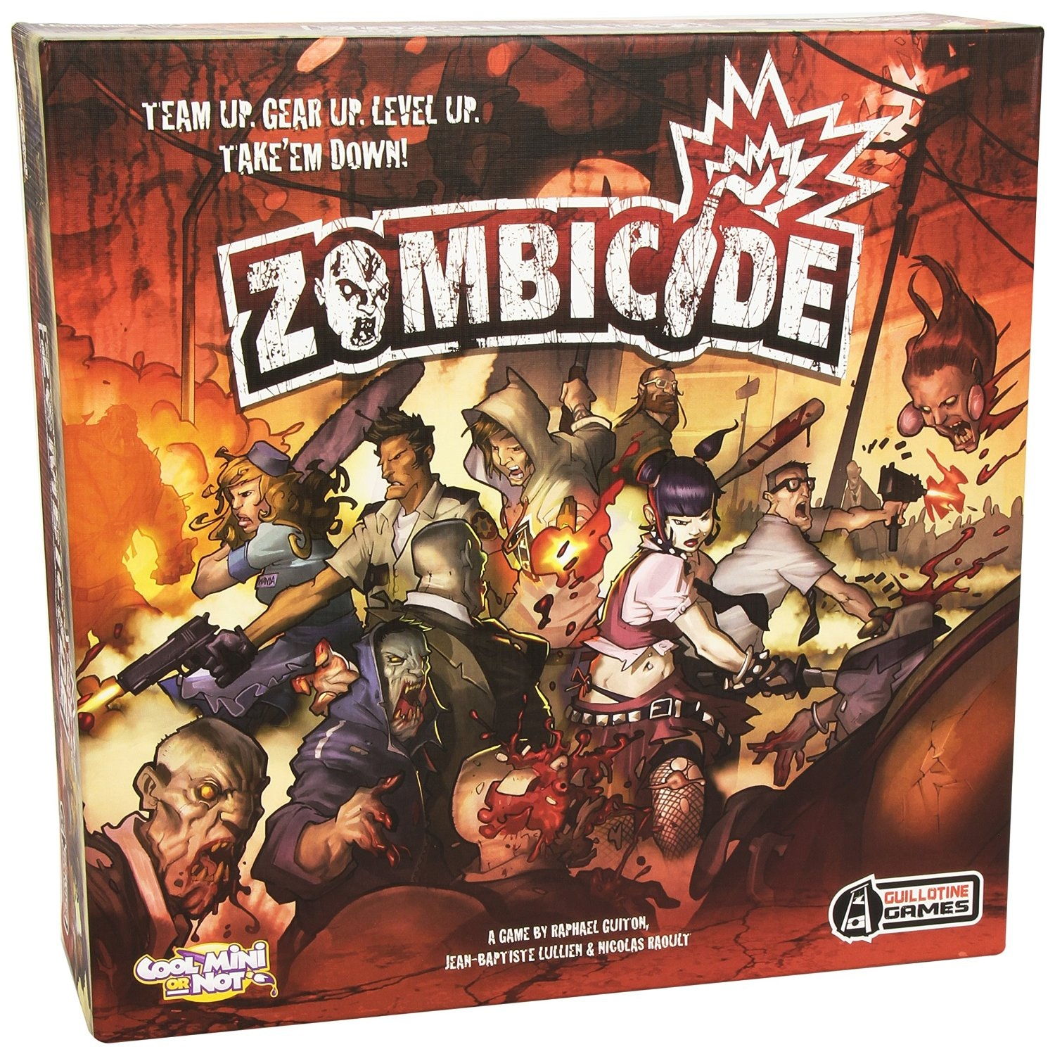 Zombicide | A zombie havoc boardgame by Guillotine Games