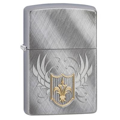 Zippo - Classic Shield Engraved
