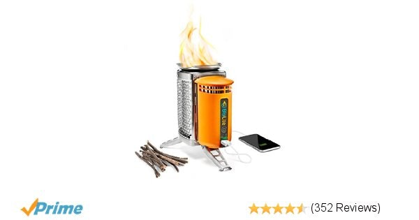 Amazon.com : BioLite Wood Burning CampStove First Generation : Camping Stoves :