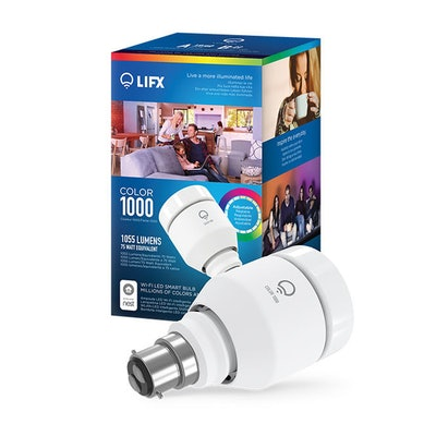 LIFX Color 1000 A19 Wi-Fi LED Smart Bulb | LIFX