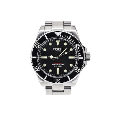 Diver - Tisell Watch - TISELL Automatic Vintage Submersible Diver Watch