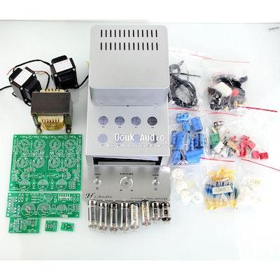 Douk Audio Push Pull Class AB Tube Integrated Amplifier HiFi Amp DIY Kit 1set |