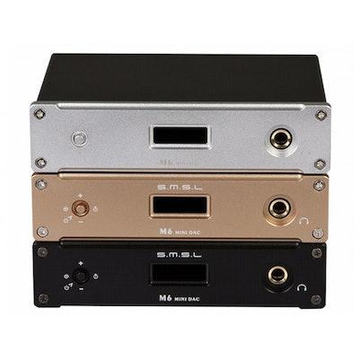 Dac Ampli Headphone SMSL M6 AK4390EF 32Bit/384KHz HiFi Multifunctional Mini DAC