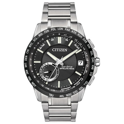 Satellite Wave World Time GPS - Men's Eco-Drive Two-Tone Watch | Citizen