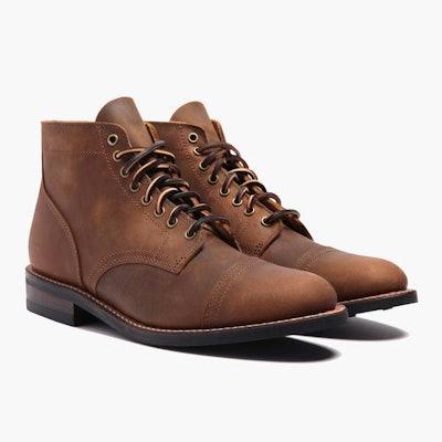 Burnt Copper Vanguard Boot | Thursday Boot Company                     Arro