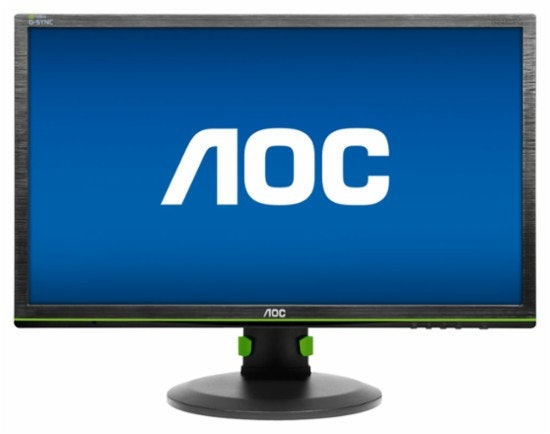 "AOC - G-SYNC 24"" LED Gaming Monitor"