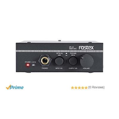 Fostex HP-A3 32-Bit Digital to Analog Converter/Headphone Amplifier: