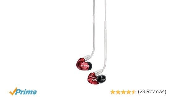 Shure SE535LTD Premium Sound Isolating Earphones, dedicated tweeter and dual woo