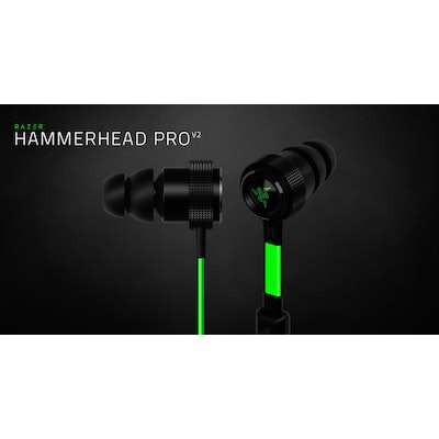 In-Ear Headphones with Mic and In-line Remote - Razer Hammerhead Pro V2