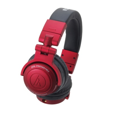 ATH-PRO500MK2RD Professional DJ Monitor Headphones || Audio-Technica US