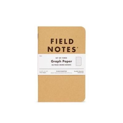Original Graph   Field Notes 3-pk