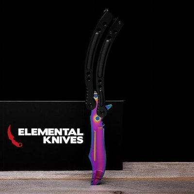 Elemental Butterfly Knife Replicas