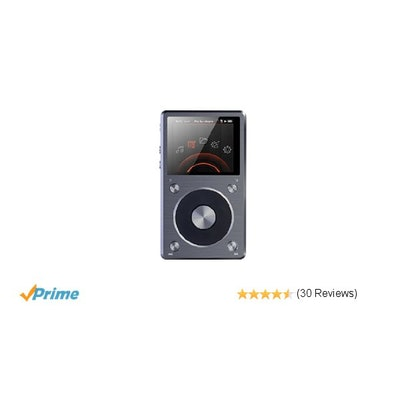 Amazon.com : High resolution lossless music player Titanium : MP3 Players & Acce