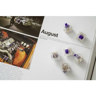Purple Zealio Switches (Tactile) – Zeal PC